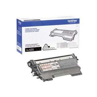 Brother TN420 Genuine Original (OEM) laser toner cartridge, 1200 pages, black