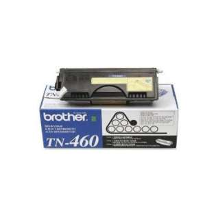 Brother TN460 Genuine Original (OEM) laser toner cartridge, 6000 pages, high capacity yield, black