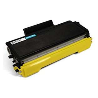 Compatible Brother TN650 toner cartridge, 8000 pages, high capacity yield, black
