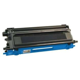 Compatible Brother TN115C toner cartridge, 4000 pages, high yield, cyan
