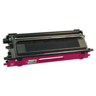 Compatible Brother TN115M toner cartridge, 4000 pages, high yield, magenta