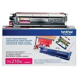 Brother TN210M Genuine Original (OEM) laser toner cartridge, 1400 pages, magenta