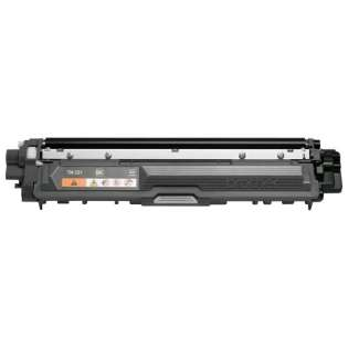 Brother TN221BK Genuine Original (OEM) laser toner cartridge, 2500 pages, black