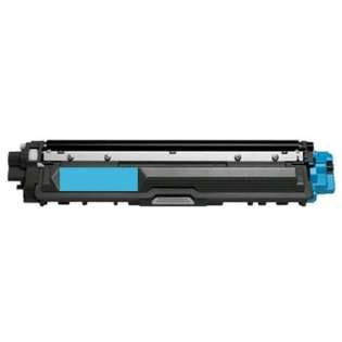 Compatible Brother TN225C toner cartridge, 2200 pages, high capacity yield, cyan