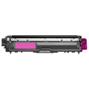 Compatible Brother TN225M toner cartridge, 2200 pages, high capacity yield, magenta