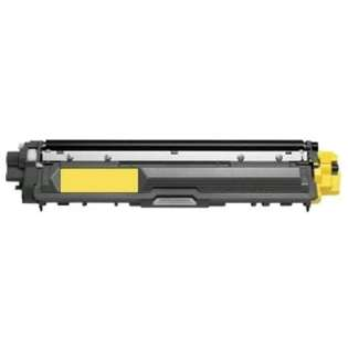 Compatible Brother TN225Y toner cartridge, 2200 pages, high capacity yield, yellow