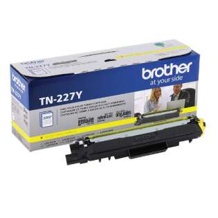 Original Brother TN227Y toner cartridge - yellow