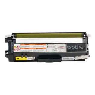 Brother TN310Y Genuine Original (OEM) laser toner cartridge, 1500 pages, yellow