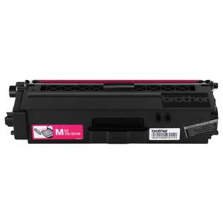 Brother TN331M Genuine Original (OEM) laser toner cartridge, 1500 pages, magenta