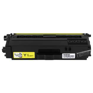 Brother TN331Y Genuine Original (OEM) laser toner cartridge, 1500 pages, yellow