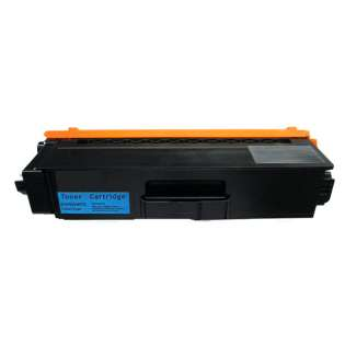 Compatible Brother TN339C toner cartridge, 6000 pages, high yield, cyan