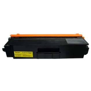 Compatible Brother TN339Y toner cartridge, 6000 pages, high yield, yellow