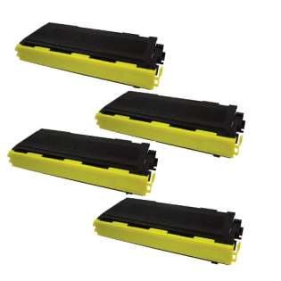 Compatible Brother TN350 toner cartridges (pack of 4)