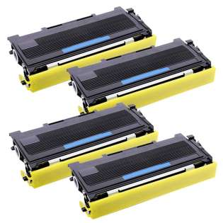Compatible Brother TN360 toner cartridges, high capacity yield (pack of 4)