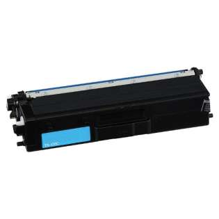 Compatible Brother TN433C toner cartridge - high capacity cyan
