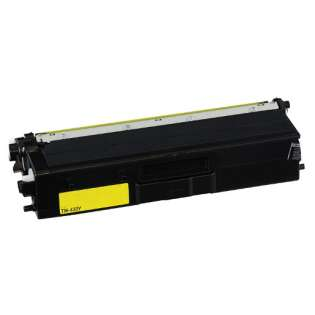 Compatible Brother TN433Y toner cartridge - high capacity yellow