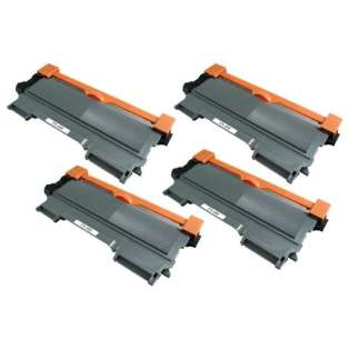 Compatible Brother TN450 toner cartridges, high capacity yield (pack of 4)