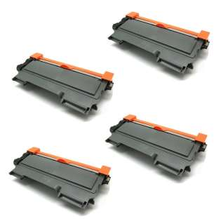 Compatible Brother TN450 toner cartridges - JUMBO capacity (EXTRA high capacity yield) black - Pack of 4