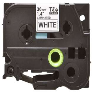 Compatible label tape for Brother TZe-261 - black on white