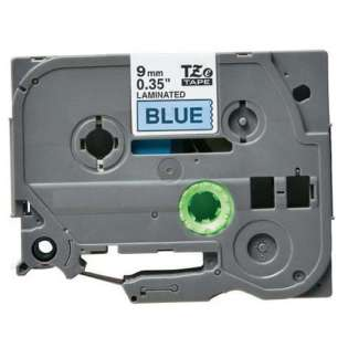Compatible label tape for Brother TZe-521 - black on blue