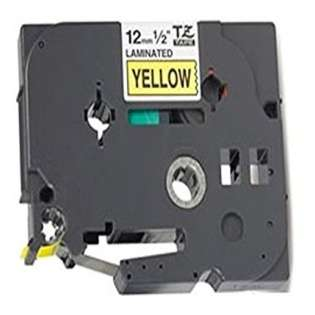 Compatible label tape for Brother TZe-631 - black on yellow