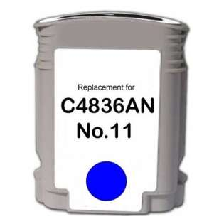 Remanufactured HP C4836A / 11 cartridge - cyan