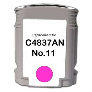 Remanufactured HP C4837A / 11 cartridge - magenta