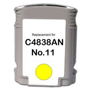 Remanufactured HP C4838a / 11 cartridge - yellow