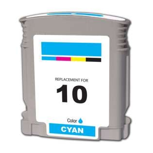 Remanufactured HP C4841A / 10 cartridge - cyan