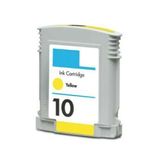 Remanufactured HP C4842A / 10 cartridge - yellow