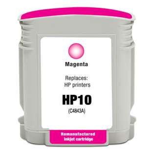 Remanufactured HP C4843A / 10 cartridge - magenta