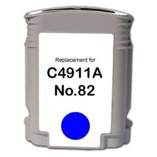 Remanufactured HP C4911A (82) inkjet cartridge - cyan