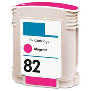 Remanufactured HP C4912A (82) inkjet cartridge - magenta