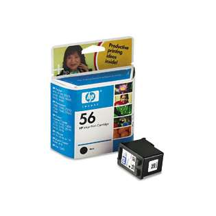 HP 56, C6656AN Genuine Original (OEM) ink cartridge, black
