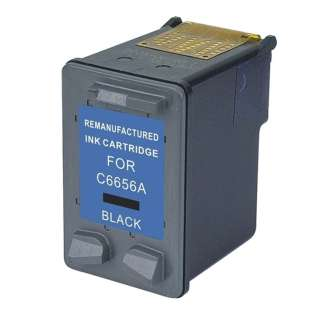 Remanufactured HP C6656AN / 56 ink cartridge - black