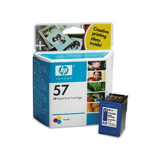 HP 57, C6657AN Genuine Original (OEM) ink cartridge, tri-color