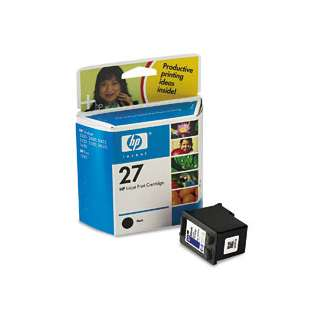 HP 27, C8727AN Genuine Original (OEM) ink cartridge, black