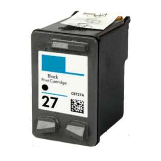 Remanufactured HP C8727AN / 27 ink cartridge - black