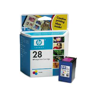 HP 28, C8728AN Genuine Original (OEM) ink cartridge, tri-color