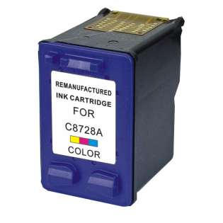 Remanufactured HP 28, C8728AN ink cartridge, tri-color