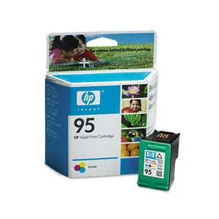 HP 95, C8766WN Genuine Original (OEM) ink cartridge, tri-color