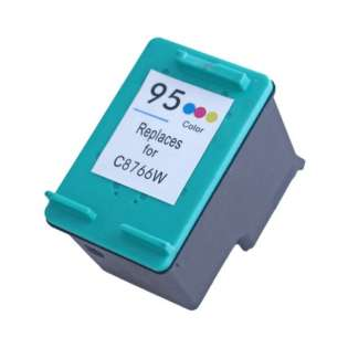 Remanufactured HP C8766 / 95 cartridge - color
