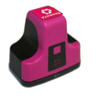 Remanufactured HP C8772WN / 02 cartridge - magenta