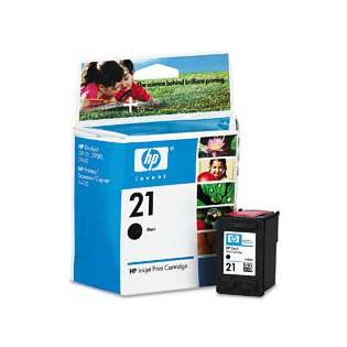 HP 21, C9351AN Genuine Original (OEM) ink cartridge, black