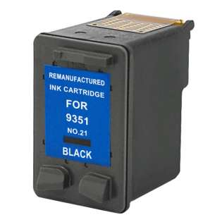 Remanufactured HP C9351AN / 21 ink cartridge - black