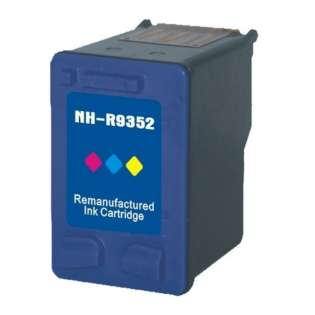 Remanufactured HP 22, C9352AN ink cartridge, tri-color