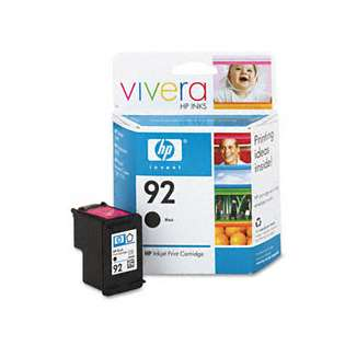 HP 92, C9362WN Genuine Original (OEM) ink cartridge, black