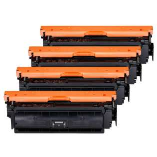 Compatible Canon 040H toner cartridges - Pack of 4