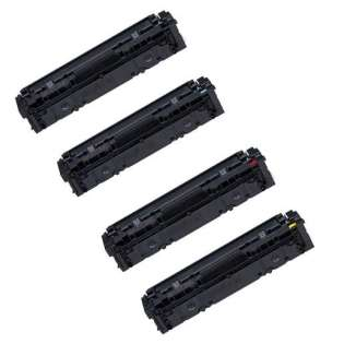 Compatible Canon 045H toner cartridges - Pack of 4
