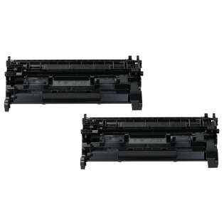 Compatible Canon 052H (2200C001) toner cartridge - high capacity black - 2-pack - now at 499inks